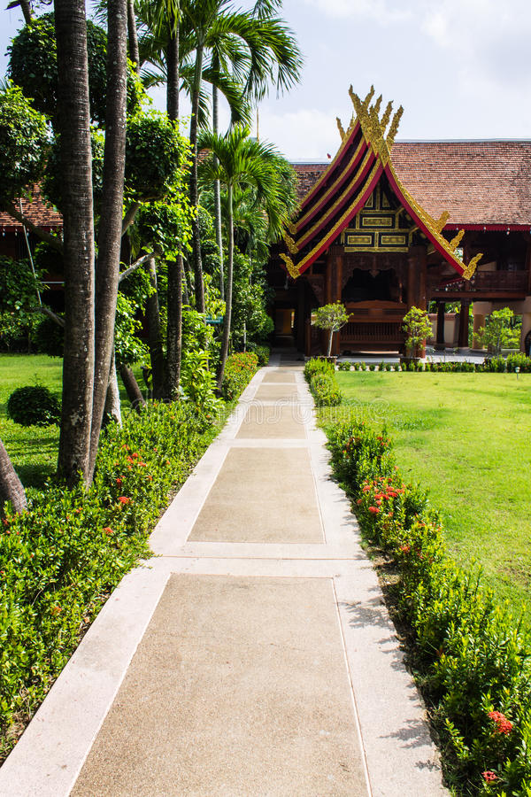 Download Cubicle Lanna Style In Wat Sri Don Moon , Chiangmai Thailand Stock Photo - Image: 32432660