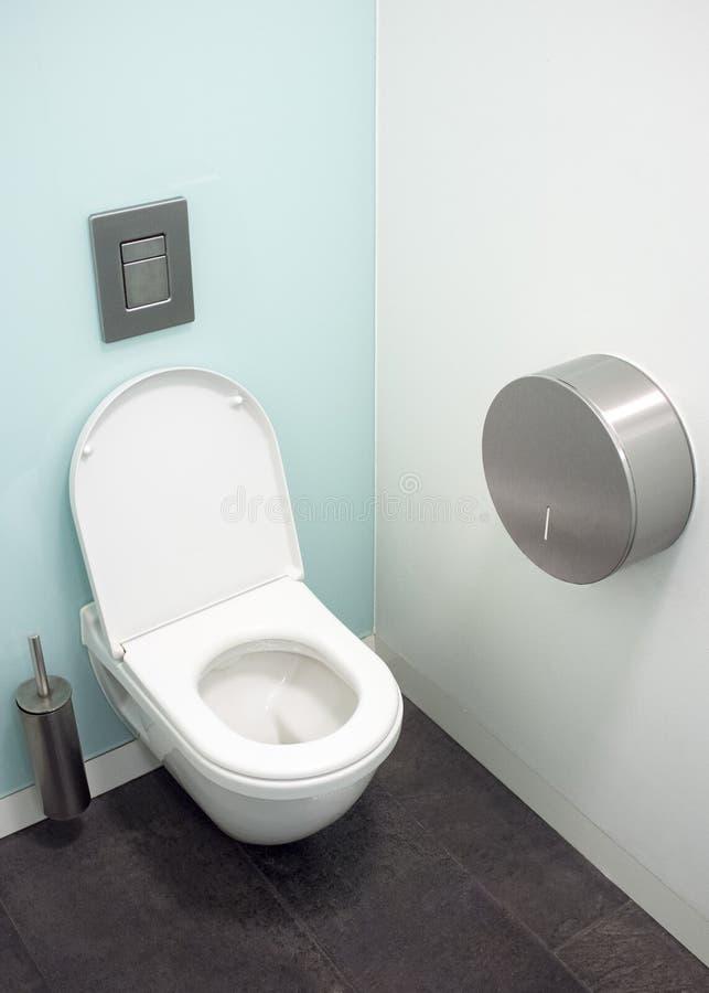 Cubicolo moderno della toilette fotografia stock