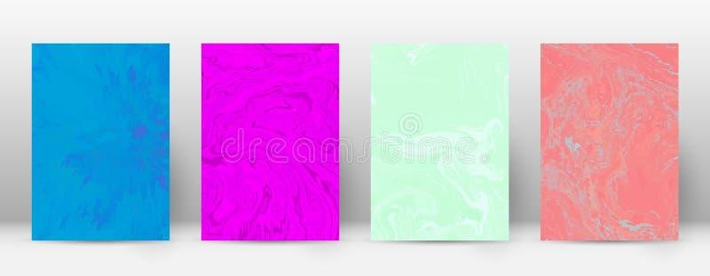Cubierta abstracta ilustración del vector