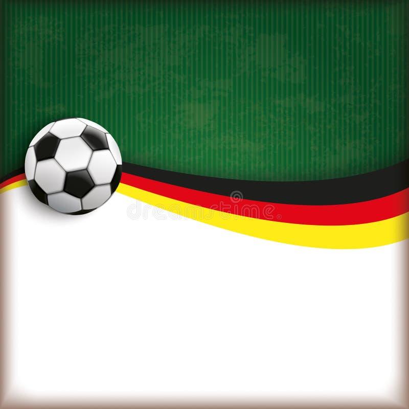 Cubierta Alemania del fútbol libre illustration