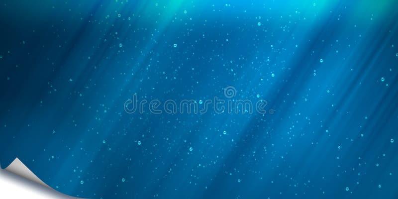 Cubierta azul libre illustration