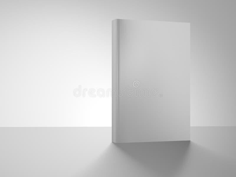Cubierta de libro aislada en el fondo blanco libre illustration