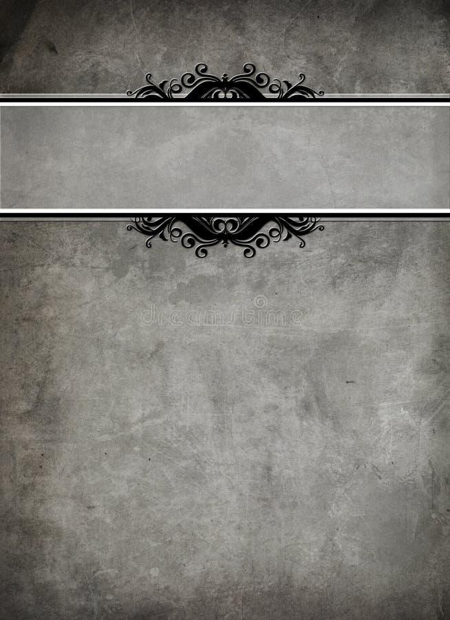 Cubierta de libro antigua ilustración del vector