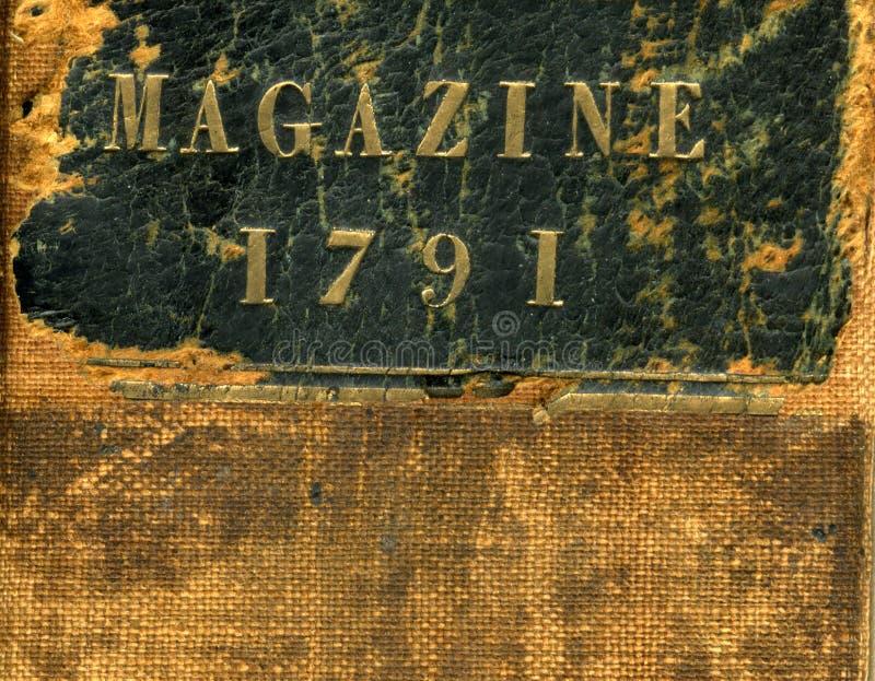 Cubierta de libro de la vendimia fotos de archivo libres de regalías