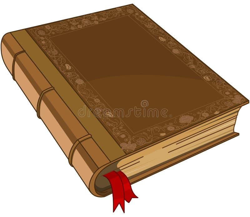 Cubierta de libro del cuento de hadas stock de ilustración