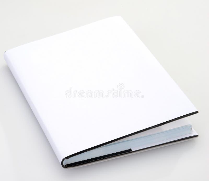 Cubierta de libro en blanco fotografía de archivo libre de regalías