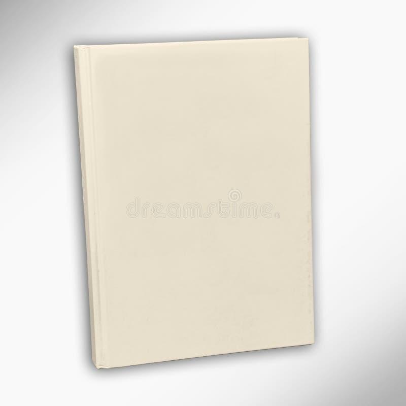 Cubierta de libro en blanco fotos de archivo