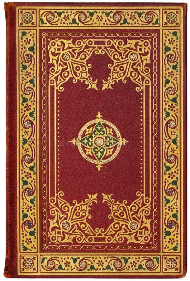 Cubierta de libro francesa de la vendimia 1901, edición 7/100 fotografía de archivo libre de regalías