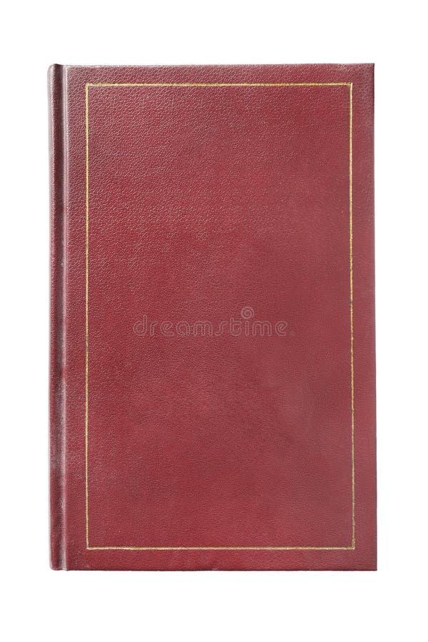 Cubierta de libro roja imágenes de archivo libres de regalías