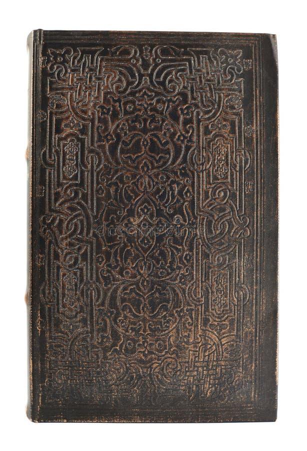 Cubierta de libro viejo aislada imágenes de archivo libres de regalías