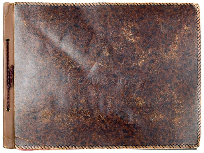 Cubierta del álbum de foto imagen de archivo libre de regalías