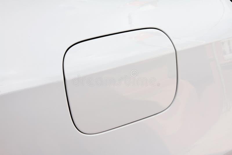 Cubierta del casquillo de gasolina del coche imagen de archivo libre de regalías