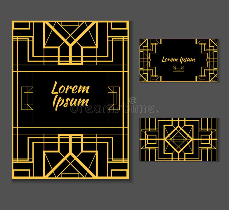 Cubierta, letra de la invitación con el lugar para su texto ilustración del vector