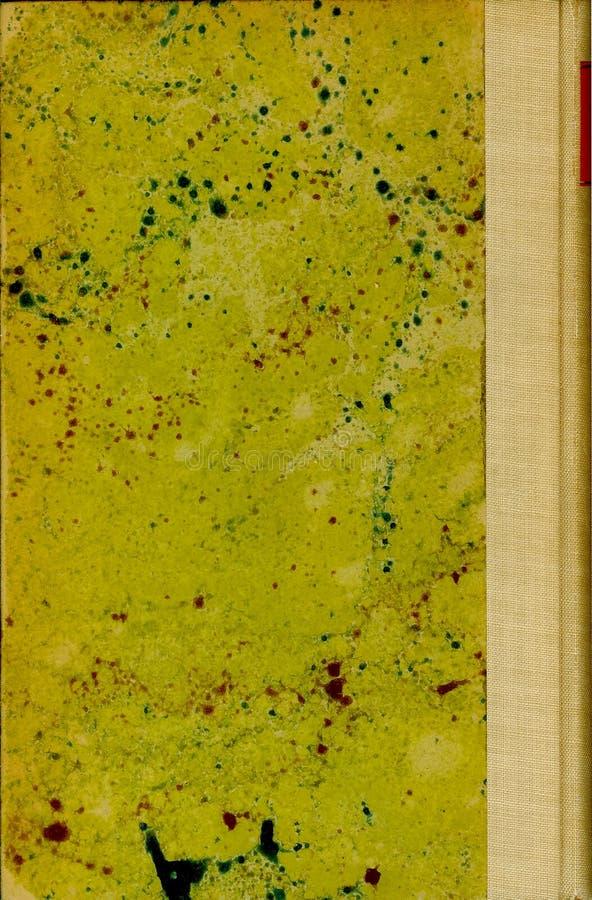 Cubierta manchada del libro viejo (1) fotos de archivo