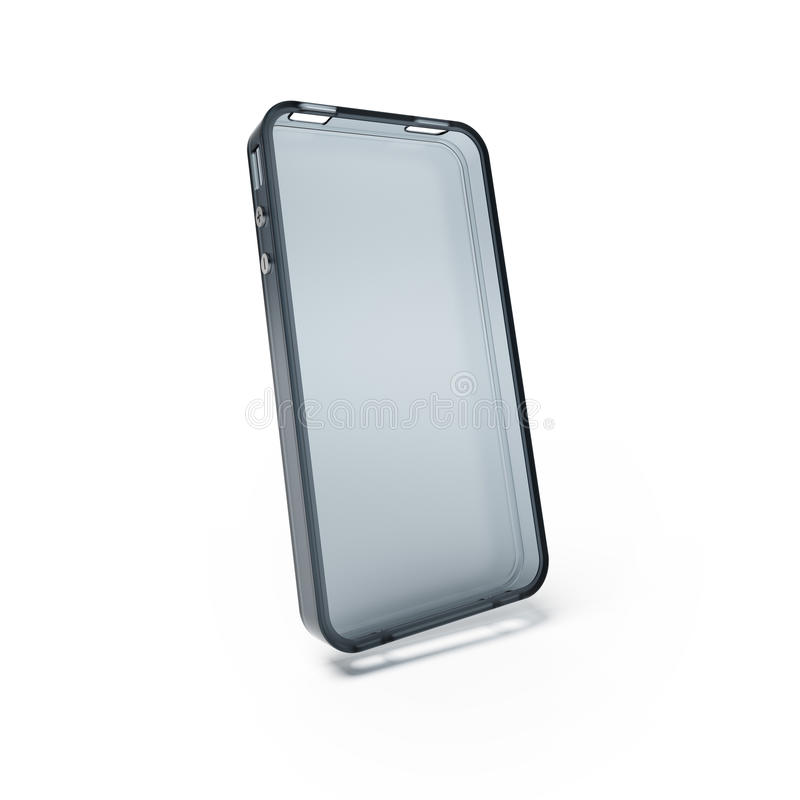 Cubierta o caja del teléfono móvil ilustración del vector