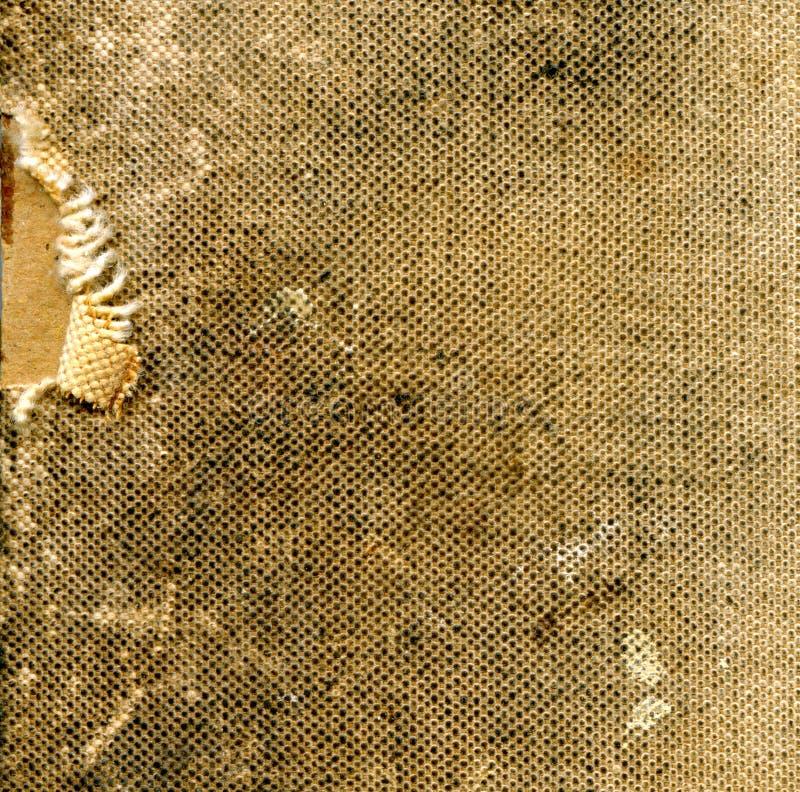 Cubierta sucia del libro de cocina de la vendimia fotografía de archivo libre de regalías