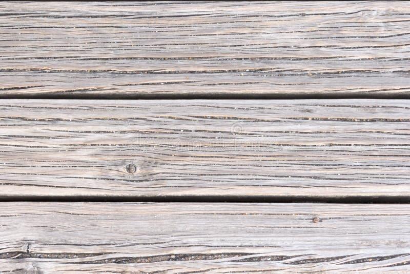 Cubierta texturizada en madera marrón imagenes de archivo