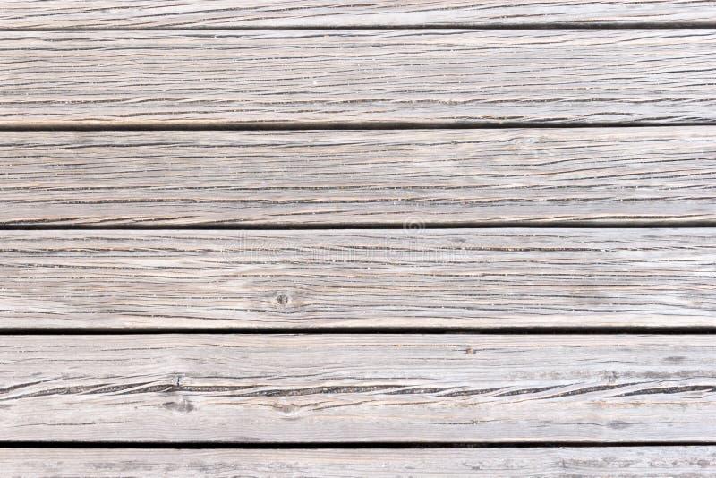 Cubierta texturizada en madera marrón imágenes de archivo libres de regalías