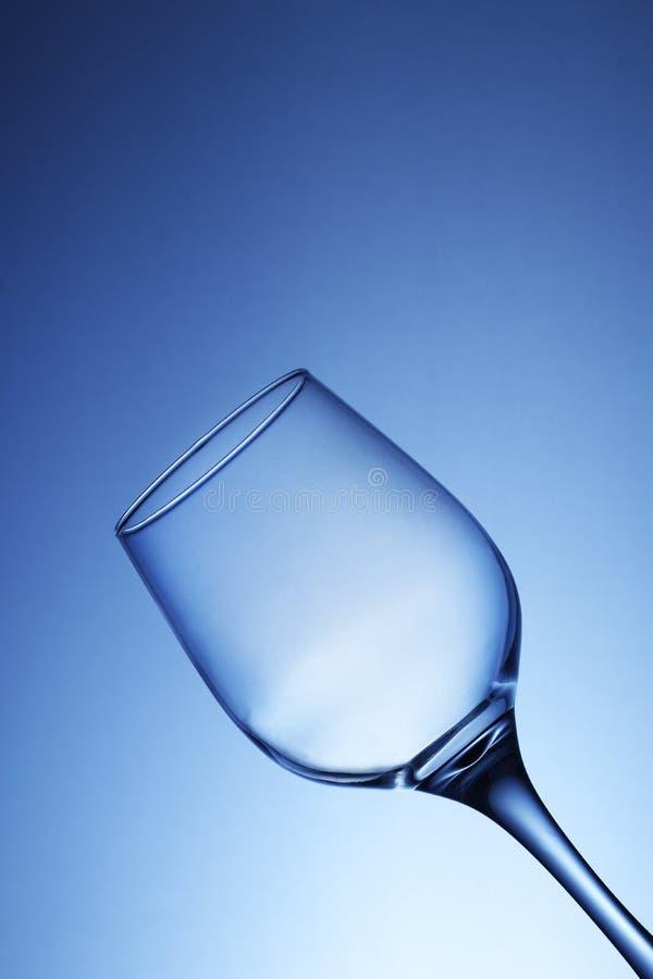 Cubilete vacío del vino imágenes de archivo libres de regalías