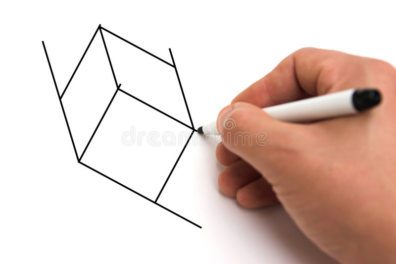 Cubism stock illustration