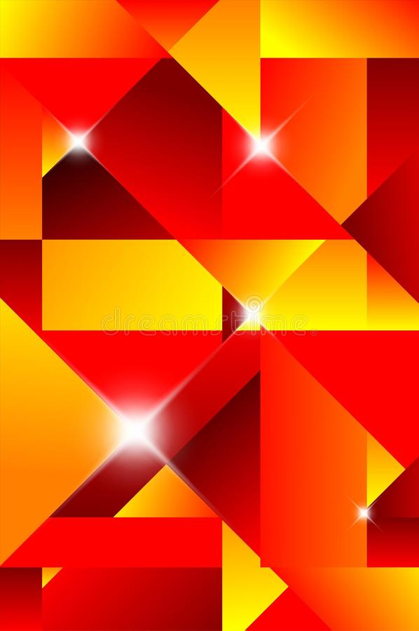 Cubism Abstract Background Stock Photos