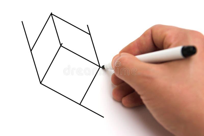 Cubisme illustration stock