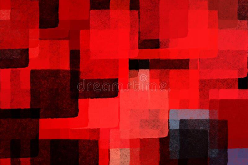 Cubist background stock illustration