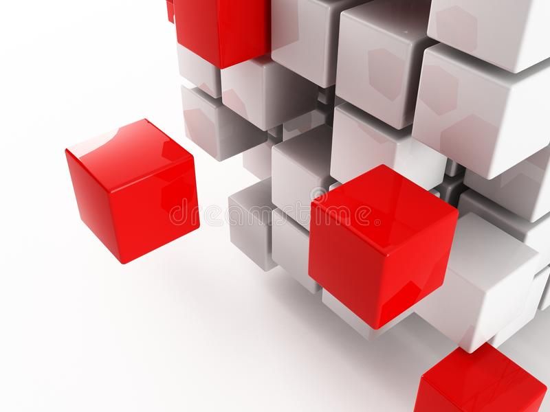 Cubo illustrazione vettoriale