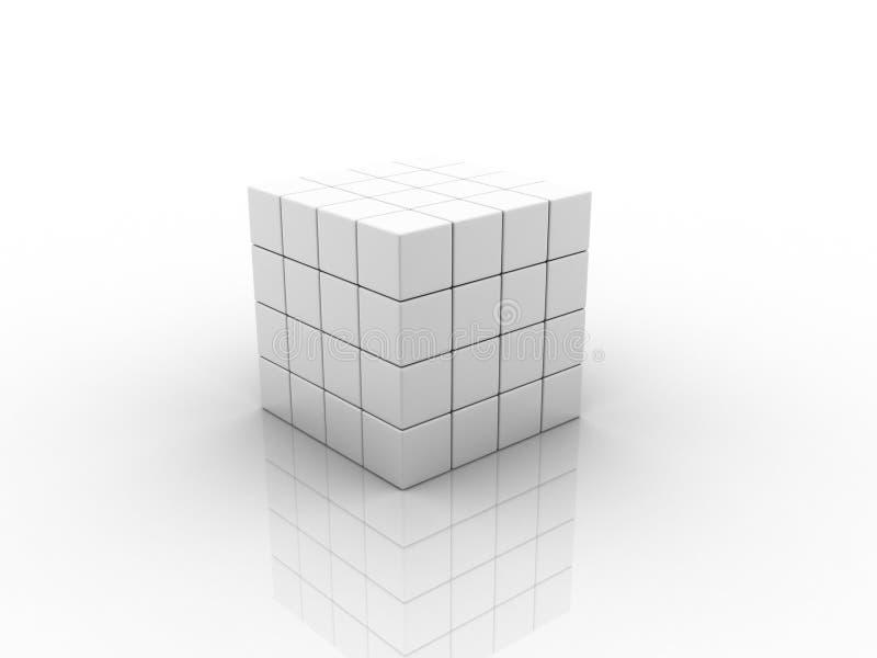 Cubo ilustração do vetor