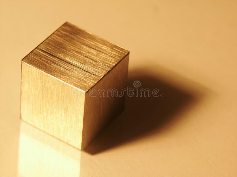Cubo Imagen de archivo libre de regalías