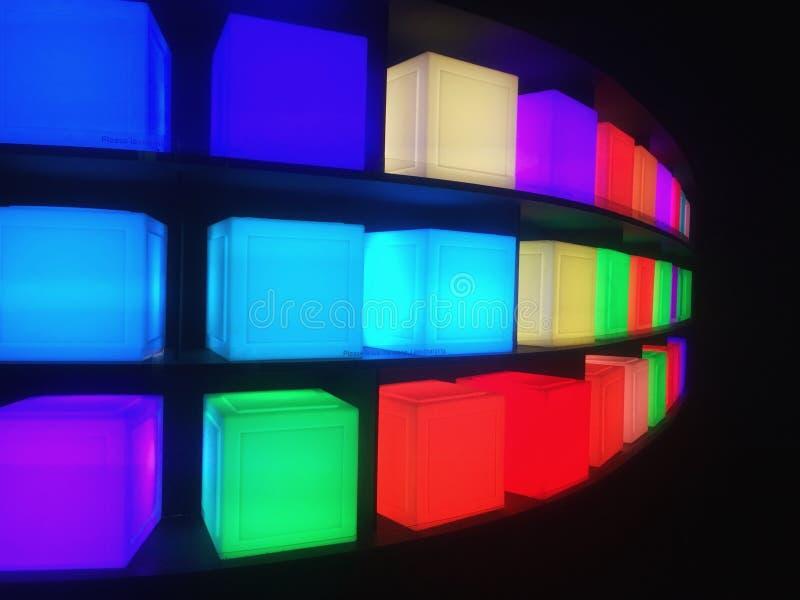Cubo Colourful fotografia stock