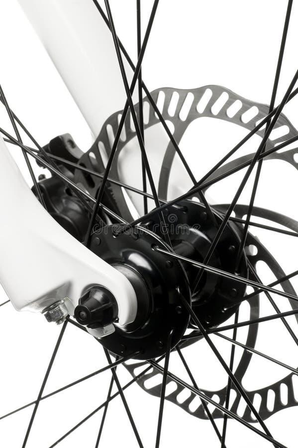 Cubo da bicicleta. imagens de stock royalty free