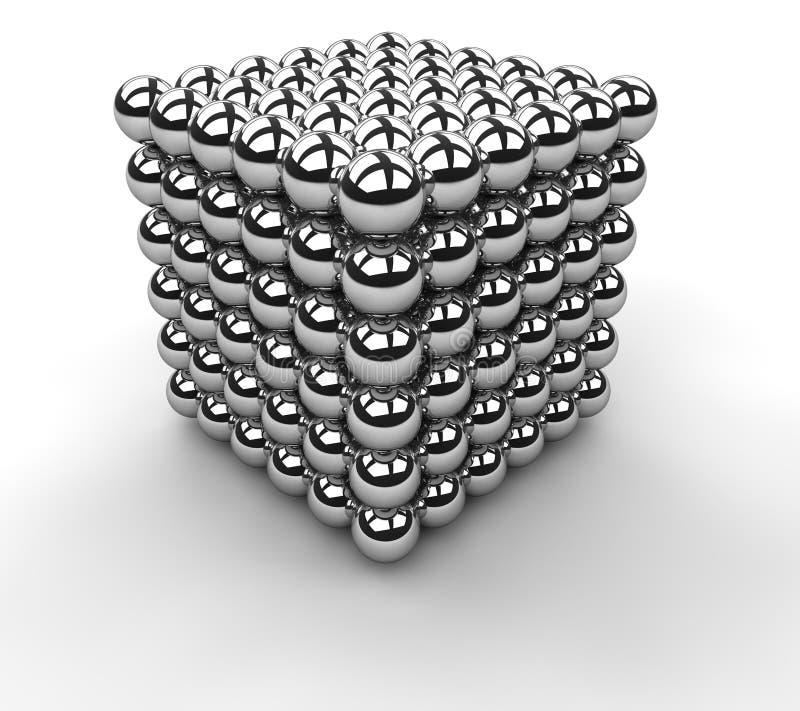 Cubo da informação ilustração do vetor