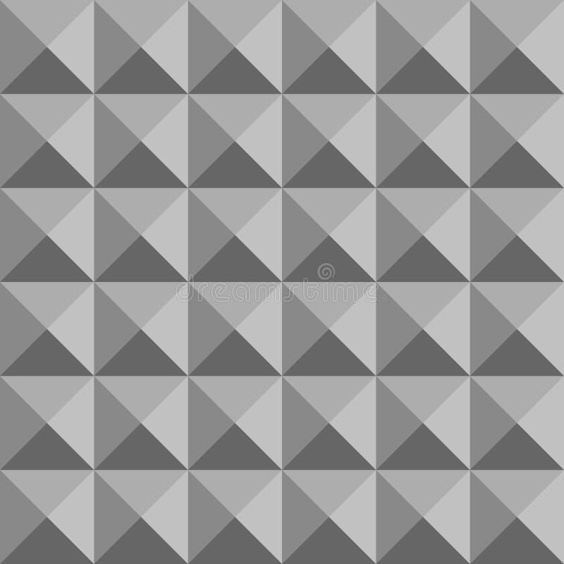Cubo da textura do metal para construir o teste padr?o sem emenda abstrato ilustração royalty free