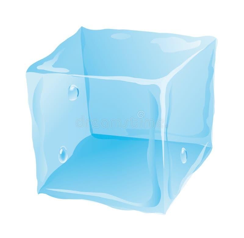 Cubo de gelo ilustração royalty free