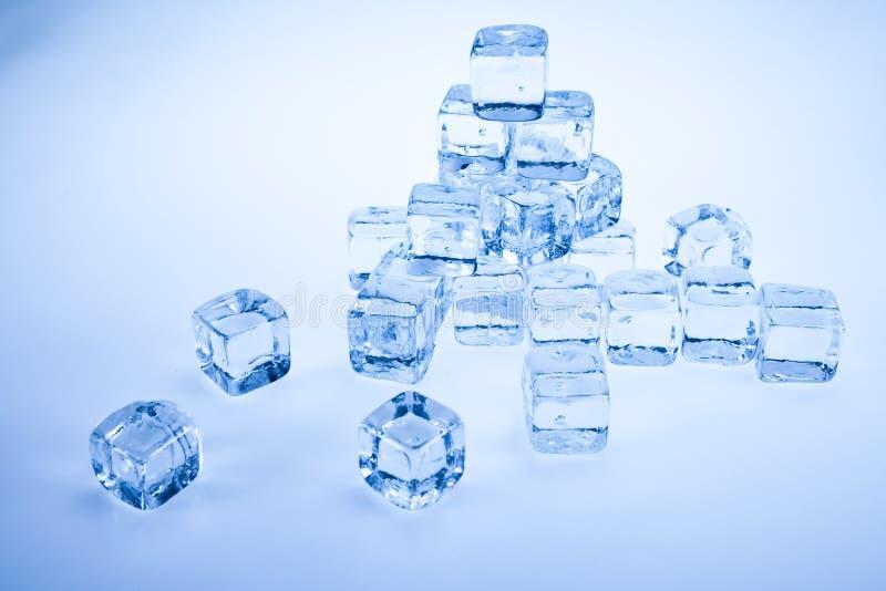 Cubo de gelo foto de stock
