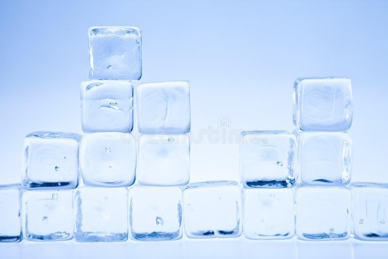Cubo de gelo imagens de stock