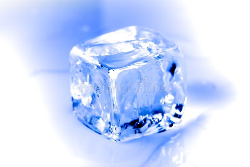 Cubo de gelo fotografia de stock