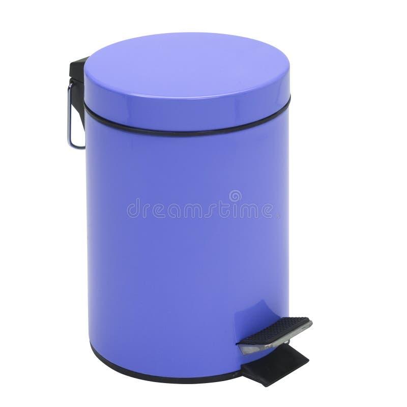 Cubo de la basura imagenes de archivo