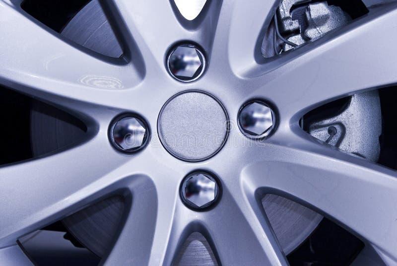 Cubo de roda - disco da ruptura fotografia de stock
