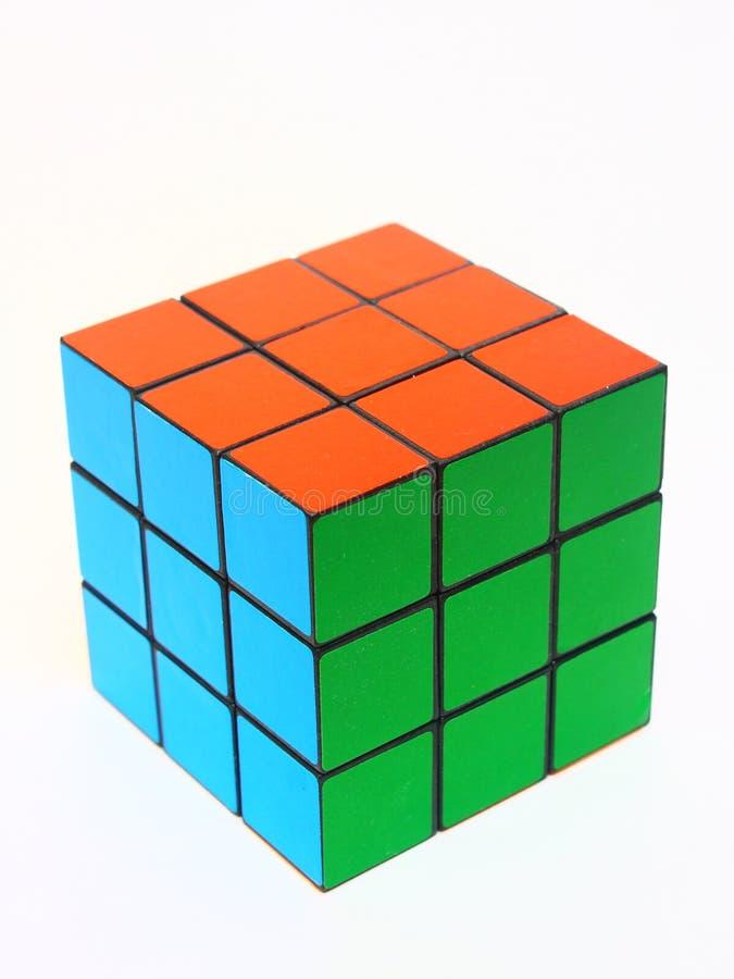 Cubo de Rubik fotografía de archivo libre de regalías