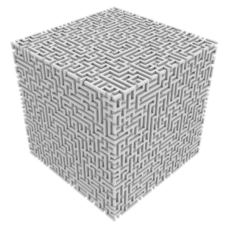 Cubo del labirinto royalty illustrazione gratis
