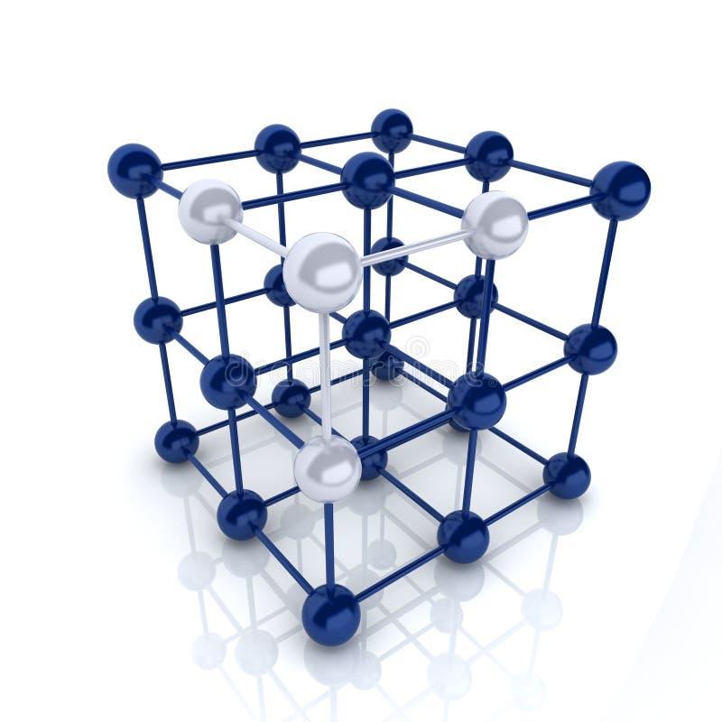 Cubo della pagina illustrazione vettoriale