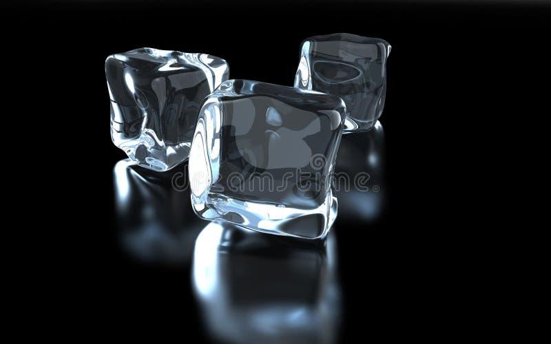 Cubo di ghiaccio royalty illustrazione gratis