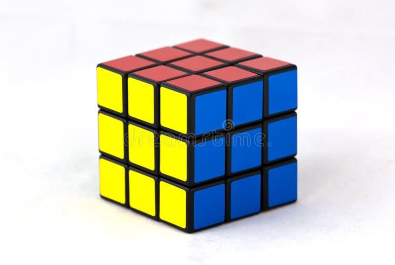 Cubo di s di Rubik ' fotografia stock