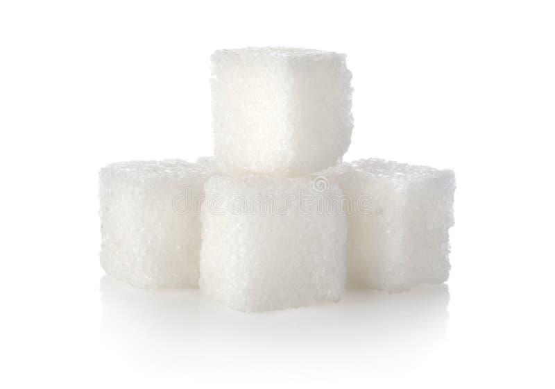 Cubo do açúcar fotografia de stock