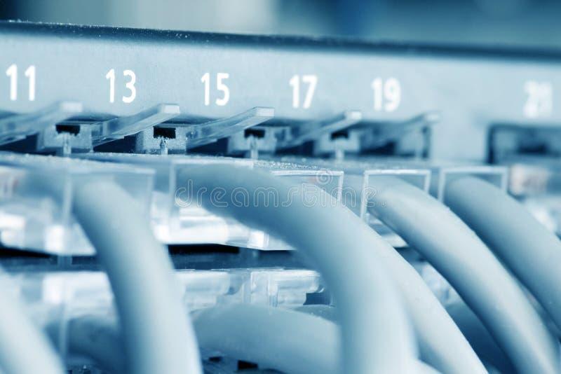 Cubo do Ethernet fotos de stock