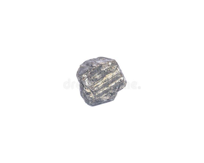 Cubo natural da pirite do Peru fotografia de stock royalty free