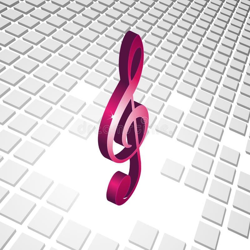 cubos 3d com os cubos 3d abstratos ilustração stock