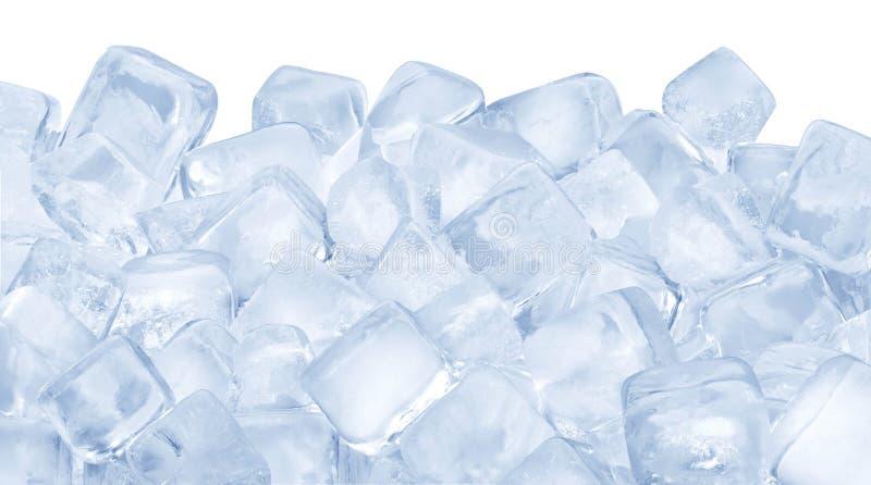 Cubos de gelo fotografia de stock royalty free